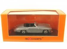 Mercedes-benz 190 SL Año Fabricación 1955 plata 1 43 Minichamps