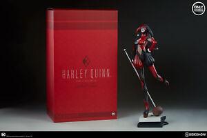 Dc Harley Quinn statue Sideshow Exclusive STANLEY Artgerm Lau Artist Series Rare