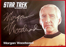 Star Trek Tos 50th, Morgan Woodward as Captain Tracey, Limited Edition Autograph