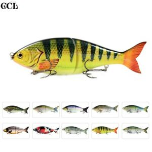 "7"" 82g Shad Glider Swimbait Fishing Lure Slow Sinking Bass Pike Fishing Bait"