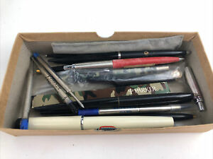Vintage Parker Pen Parts Pieces Lot
