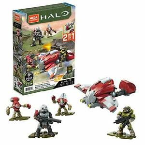 Mega Construx Halo Hijacked Ghost Vehicle Infinite Action Figure Building 123pcs