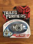 Hasbro Transformers Real Gear Robots, Spy Shot 6 Action Figure, NOS