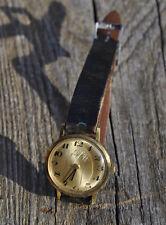 Montre mécanique ancienne or Zenith c 1086 cadran diametre 2,50 cm à réviser