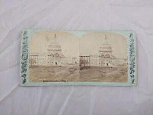 Charles Bierstadt US Capital East Front Washington DC 1870s SV Photo