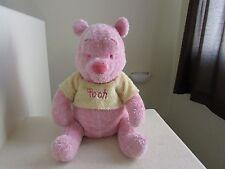 "HUGE Disney Store Winnie The Pooh SUGAR SWEET POOH PINK 20"" Plush Stuffed Animal"