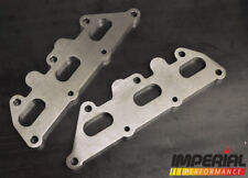 VAUXHALL X25XE C25XE X30XE V6 2.5 3.0 stainless steel exhaust manifold flanges