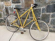 Vintage Pedersen Copenhagen Denmark Campagnolo Bicycle Yellow!!!!