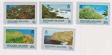 (K32-7) 1981 Pitcairn Islands 5set of landscapes stamps MUH