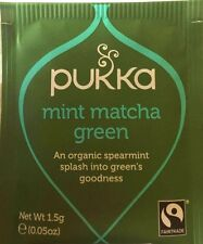 Pukka Tea 20 Sachets Organic Herbal Teabags - Mint Matcha Green