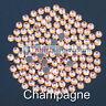 CHAMPAGNE-TSS Bulk Wholesale Hotfix Ironon Rhinestone Flatback Premium Quality