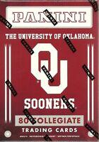 2016 Panini Univ. of Oklahoma OU Sooners Multi-Sport Trading Cards Blaster Box