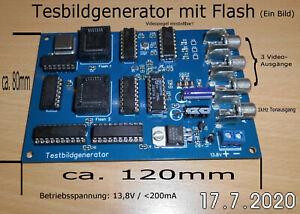 TOP: Testbildgenerator/Test-/ Stationsbild in ATV senden ohne PC/Kamera