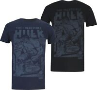 Marvel - The Incredible Hulk - Rampage - Mens T-Shirt Tee - Black or Navy Blue