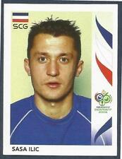 PANINI FIFA WORLD CUP-GERMANY 2006- #217-SERBIA & MONTENEGRO-SASA ILIC