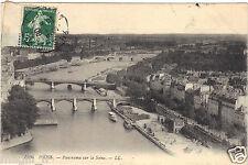 75 - cartolina - PARIGI - Panorama sul Senna