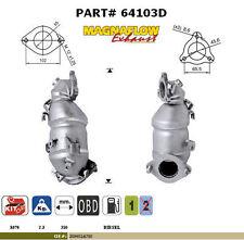 Pot catalytique Kia Ceed 1.6TD CRDI 1582cc 66Kw/90cv D4FBL 3/07>, antérieur, Mag