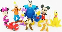 *MICKEY MOUSE CLUBHOUSE Figure Play Set DISNEY PVC TOY PETE Pluto MINNIE Goofy!*