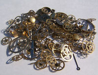Steampunk Watch Parts 150+ Lot 10g - Gears Altered Art