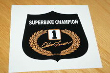 Eddie Lawson Superbike Campeón de la etiqueta engomada