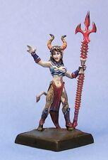 Sinessa Hellborn Sorceress Reaper Miniatures Dark Heaven Legends Demon Caster