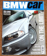 October Monthly Magazines Bmw Car