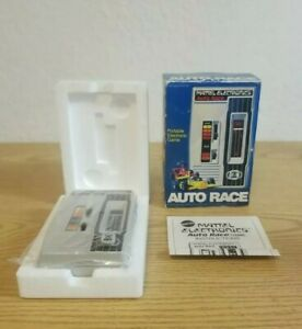 1976 Mattel Electronics AUTO RACE Pocket Game Plastic Bag Factory Sealed RARE