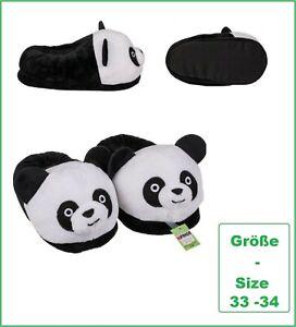 Panda Bear Kids Slippers Cuddle Slippers Unisex 35 - 36