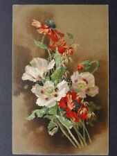 Poppies Postcard c1902 UB by Ernest Nister Series 59