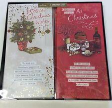 Sello de Navidad tradicional Multi Diseño Pergamino Tarjeta De Edición Caja 18 Tarjeta 11403180
