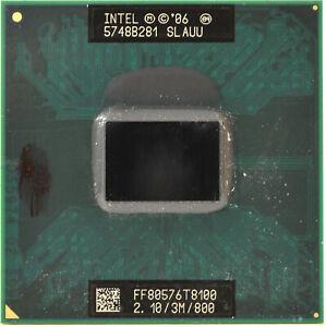 Intel Core 2 Duo SLAUU T8100 2,10GHz/3Mb/800MHz FSB Processore CPU Notebook, P27