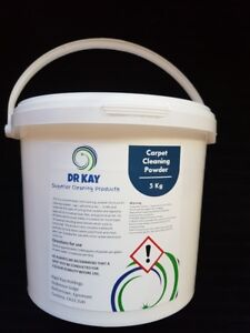 5kg Professional Carpet cleaning powder shampoo & Upholstery Cleaner IDEAL VAX