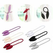 Magnetic Hook Curtain Buckle Clip Tieback Tie Back Holder Bedroom Window Decor
