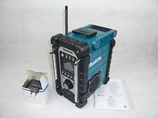 MAKITA 14,4 18 V Akku-Baustellenradio Radio DMR107 + Netzteil BMR DMR 102