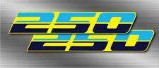 1987 Quadracer 2pc LT250R, LT250 250 quad rear fender Decals stickers graphics