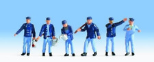 Noch 36282 Locomotive & Shunter Drivers N Gauge Figures Set