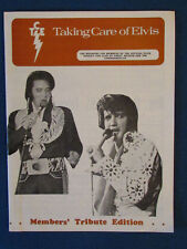 Elvis Presley - Fan Club Magazine - October / November 1977-Taking Care of Elvis