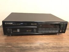 Pioneer Elite PD-M59 6 Compact Disc Audio CD Player Changer + Cartridge Works!!