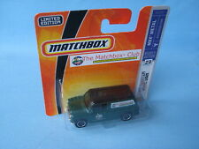 Matchbox Austin Mini Van Green Body RARE MICA Club Issue Toy Model