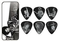 Jimi Hendrix Guitar Picks Silver Portrait Series 1 with Picks Dunlop