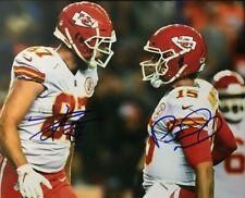 Patrick Mahomes & Travis Kelce Kansas City Chiefs 8x10 Signed Photo Reprint