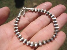 999 to 970 fine silver hill tribe bead bracelet Thailand jewelry art A95