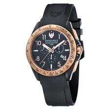 Swiss Águila SE-9061-05 Hombre Reloj con Cronógrafo Negro táctica de campo RRP £ 475