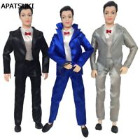 3Pcs/set Handmade Doll Clothes For Ken Doll Business Wedding Suit For Ken Doll