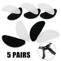 NEW Comfort Nose Pad Glasses Anti-Slip Stick On Grip Silicone Sunglass Spectacle