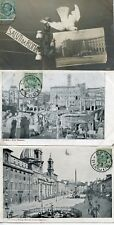 CARTOLINA / CARTE POSTALE / ITALIA / ITALIE / LOT 19 CARTES ANCIENNES