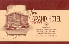 New Grand Hotel, Salt Lake City, Ut