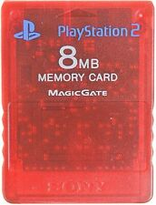 Playstation 2 Memory Card 8 MB - Red