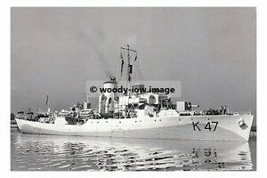 rp17283 - Royal Navy Warship - HMS Polyanthus K47 , built 1941 - photograph 6x4