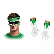 Disguise Green Power Ranger Accessory Kit Adult Mens Halloween Costume 82852
